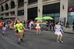 2015 NYC Dansparade 80 Royalty-vrije Stock Foto's