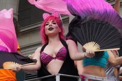 2015 NYC Dansparade 88 Royalty-vrije Stock Foto's