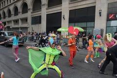 2015 NYC Dansparade 95 Royalty-vrije Stock Foto's