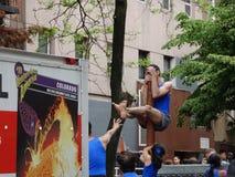2016 NYC Dansparade 40 Royalty-vrije Stock Afbeeldingen