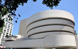 NYC: Das Guggenheim Museum Stockbild