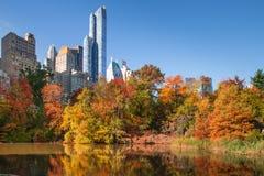 Nyc de Central Park fotografía de archivo
