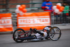 2014 NYC-de close-up van de Marathonraceauto Stock Afbeeldingen