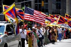 NYC: De internationale Parade van de Stichting van Immigranten royalty-vrije stock afbeeldingen