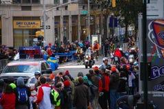 2014 NYC-de Leider Pack van Marathonvrouwen Stock Afbeelding