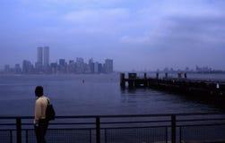 Nyc de Manhattan Foto de archivo libre de regalías