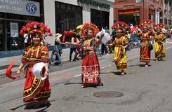 NYC: De Parade van de Dag van de Onafhankelijkheid van Filippijnen royalty-vrije stock afbeelding