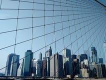 NYC, DE V.S. stock foto's