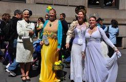 NYC: De vrouwen bij 2014 Pasen paraderen Royalty-vrije Stock Foto