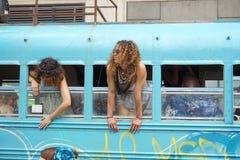 2015 NYC-Deel 2 16 van de Dansparade Stock Fotografie