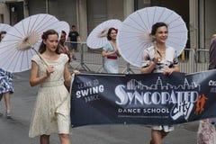 2015 NYC-Deel 2 23 van de Dansparade Royalty-vrije Stock Afbeelding