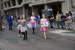 2015 NYC-Deel 2 27 van de Dansparade Stock Foto's