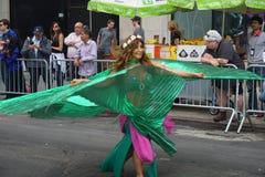 2015 NYC-Deel 2 28 van de Dansparade Stock Afbeelding