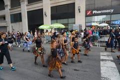 2015 NYC-Deel 2 39 van de Dansparade Royalty-vrije Stock Fotografie