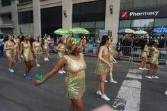 2015 NYC-Deel 2 40 van de Dansparade Stock Afbeelding