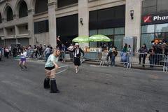 2015 NYC-Deel 2 44 van de Dansparade Stock Afbeelding