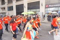 2015 NYC-Deel 2 48 van de Dansparade Stock Afbeelding