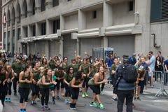 2015 NYC-Deel 2 55 van de Dansparade Royalty-vrije Stock Afbeelding