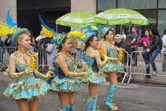 2015 NYC-Deel 2 67 van de Dansparade Royalty-vrije Stock Foto's