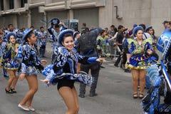 2015 NYC-Deel 2 72 van de Dansparade Royalty-vrije Stock Foto's