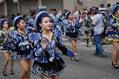 2015 NYC-Deel 2 73 van de Dansparade Royalty-vrije Stock Fotografie