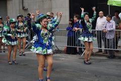 2015 NYC-Deel 2 76 van de Dansparade Stock Afbeelding