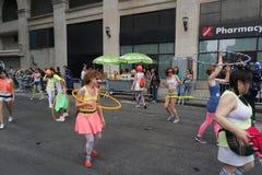 2015 NYC-Deel 2 81 van de Dansparade Royalty-vrije Stock Afbeelding