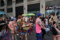 2015 NYC-Deel 2 99 van de Dansparade Stock Afbeelding