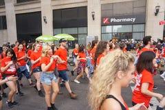 2015 NYC-Deel 3 3 van de Dansparade Royalty-vrije Stock Fotografie