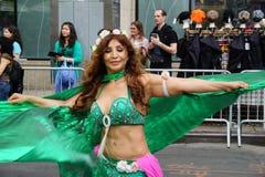 2015 NYC-Deel 3 5 van de Dansparade Stock Afbeelding