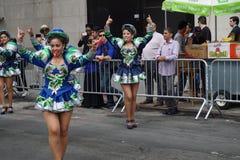 2015 NYC-Deel 3 16 van de Dansparade Royalty-vrije Stock Afbeeldingen