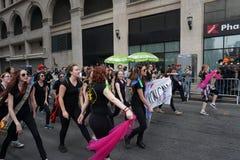 2015 NYC-Deel 3 17 van de Dansparade Stock Afbeelding
