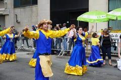 2015 NYC-Deel 3 23 van de Dansparade Stock Foto's