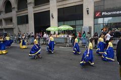 2015 NYC-Deel 3 24 van de Dansparade Stock Fotografie