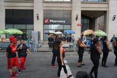 2015 NYC-Deel 3 42 van de Dansparade Stock Afbeelding