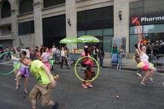 2015 NYC-Deel 3 52 van de Dansparade Stock Afbeelding