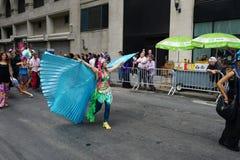2015 NYC-Deel 3 60 van de Dansparade Stock Afbeeldingen