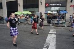 2015 NYC-Deel 3 95 van de Dansparade Royalty-vrije Stock Fotografie