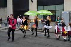 2015 NYC-Deel 3 98 van de Dansparade Stock Afbeelding