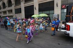 2015 NYC-Deel 4 7 van de Dansparade Stock Afbeeldingen