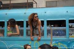 2015 NYC-Deel 4 19 van de Dansparade Stock Afbeelding