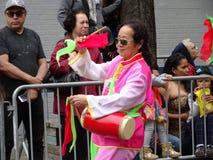 2016 NYC-Deel 2 34 van de Dansparade Stock Fotografie