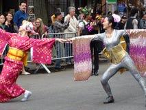 2016 NYC-Deel 3 12 van de Dansparade Stock Afbeeldingen