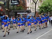 2016 NYC-Deel 3 72 van de Dansparade Royalty-vrije Stock Fotografie