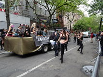 2016 NYC-Deel 3 78 van de Dansparade Stock Foto