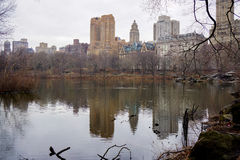 Nyc del Central Park Fotografia Stock Libera da Diritti
