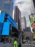 Nyc 2018 del Times Square fotografia stock libera da diritti