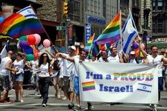 NYC: Desfile del orgullo de 2010 homosexuales Imagenes de archivo