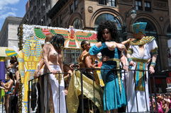 NYC: Desfile del orgullo de 2012 homosexuales foto de archivo