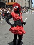 NYC: Desfile del orgullo de 2012 homosexuales Imágenes de archivo libres de regalías